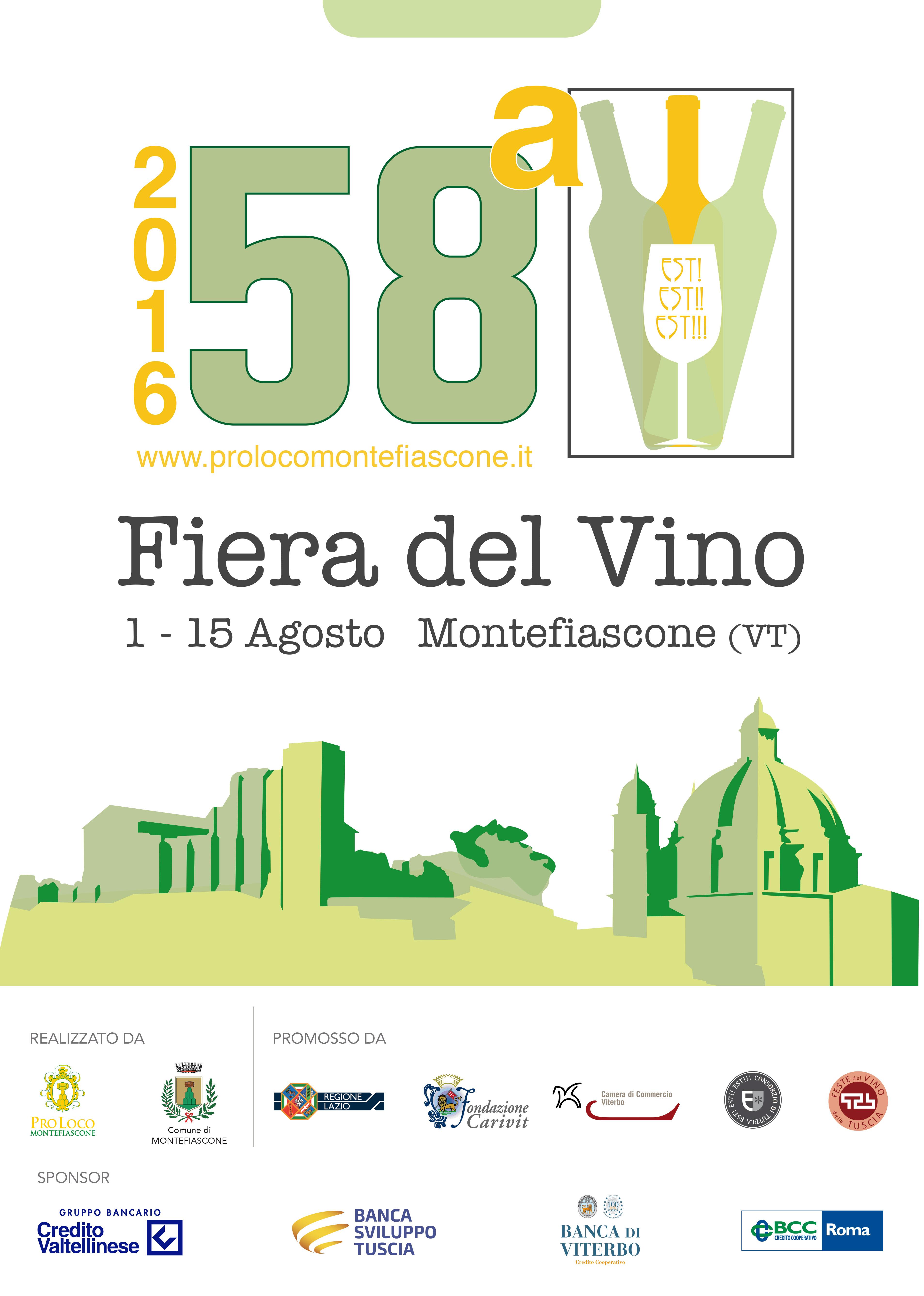 Fiera del vino montefiscone 2016