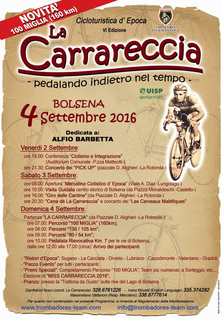 la carrareccia 2016