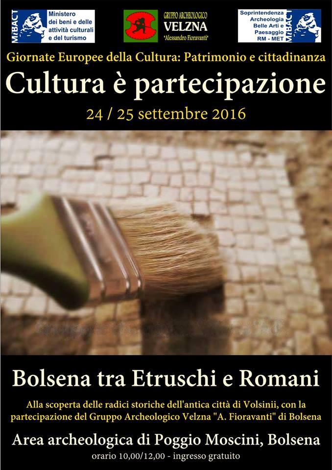 bolsena cultura e partecipazione