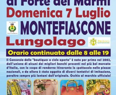 """""""Gli Ambulanti di Forte dei Marmi®"""" a Montefiascone domenica 7 luglio"""